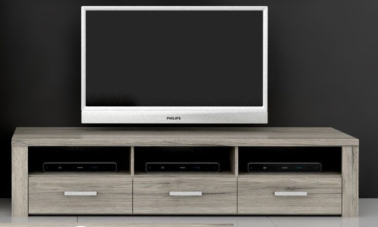 TV Unterschrank Elephant II passend zum Wohnzimmerprogramm Elephant in 2 tollen Farbkombinationen (D39, D41) 1 x TV Unterschrank mit 3 Schubkästen und 3 Receiverflächen...