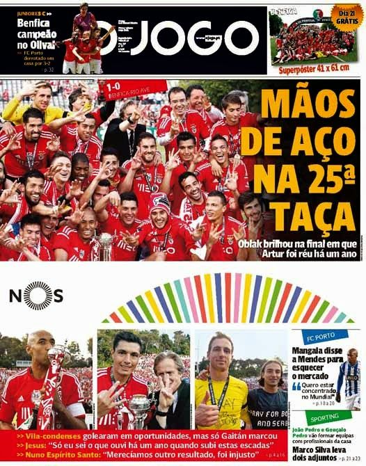 Couratos à Benfica