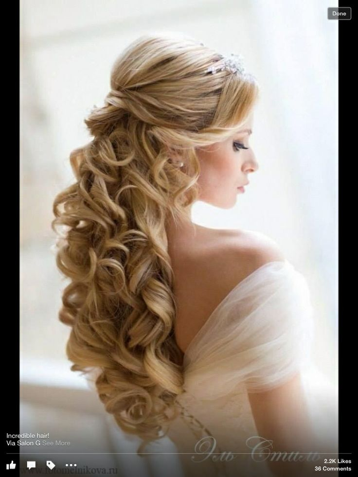 curly hair styles with bangs 98 best half up half updos images on 1548 | 6c6e1548f7ac5600a581e3cd6d84fdf0 dream wedding wedding stuff