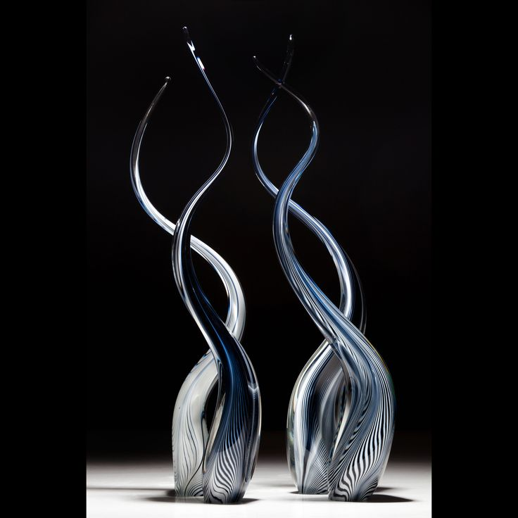 Scott Hartley ~ Infinity Art Glass ~ Reeds