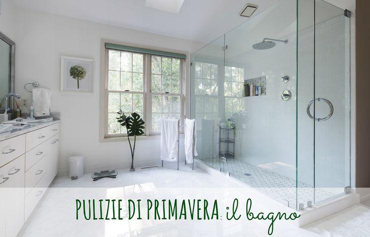 Pulizie di primavera: il bagno