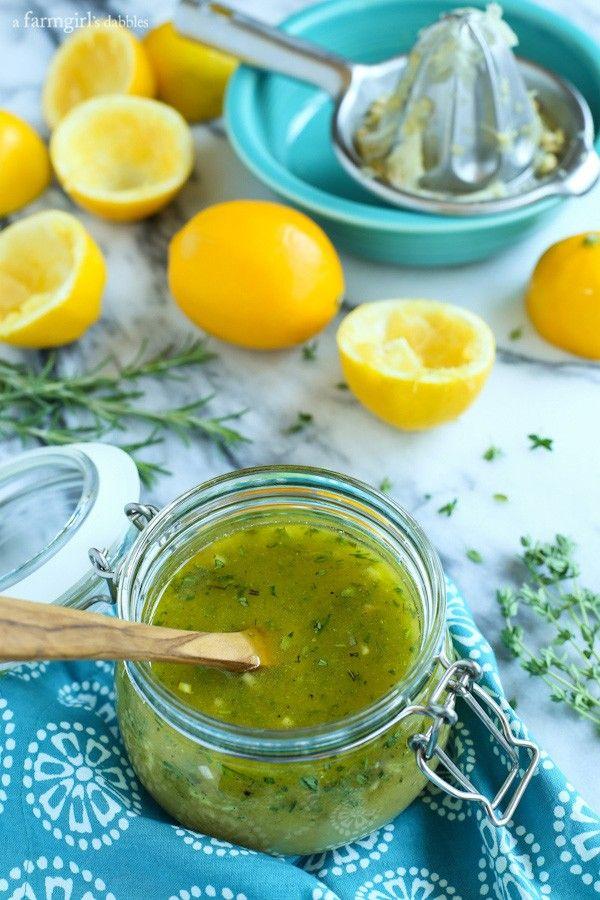 recipe: best lemon vinaigrette dressing [25]