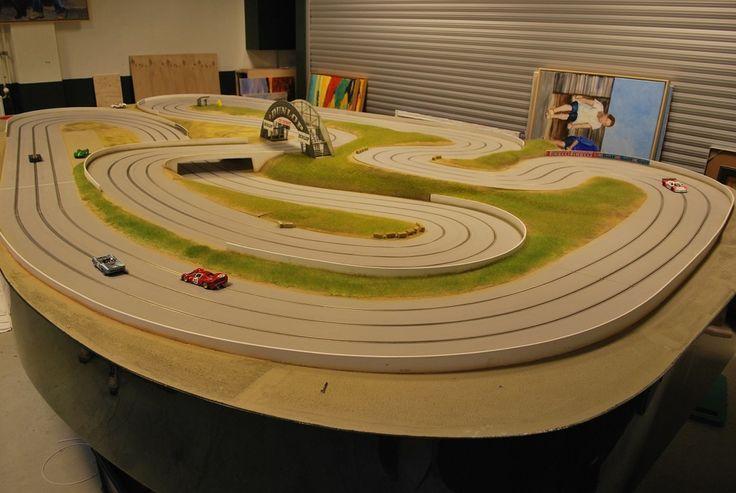 Wooden 3lane track build SlotForum Slot car tracks