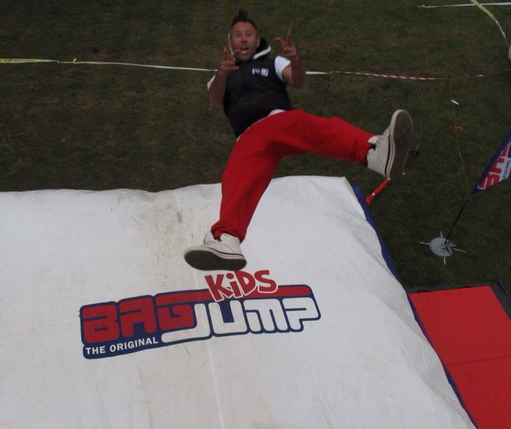 Bagjump UK @ the gt cup motocross