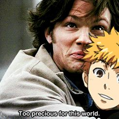 *sobs* Tokyo Ghoul / Supernatural (I literally saw this on my tumblr dash like 10 times right after the episode aired)
