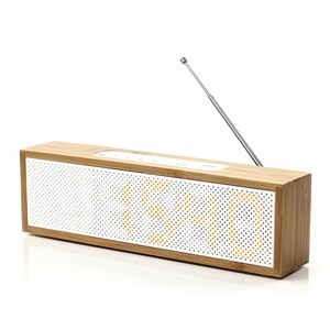 Clock Radio Bamboo now featured on Fab.