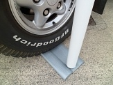Portable Flag Pole Car Base