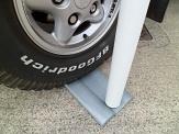 Portable Flag Pole Car Base