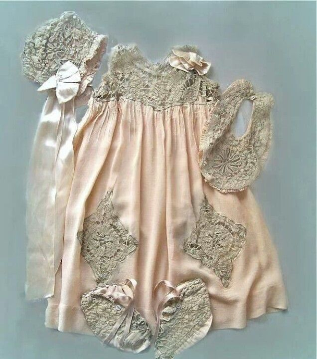 Baptism Set Baby Dress Kids Outfits Baby