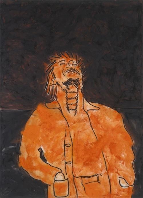 """Tony Bevan (""""The Horizon"""", 1983)"""