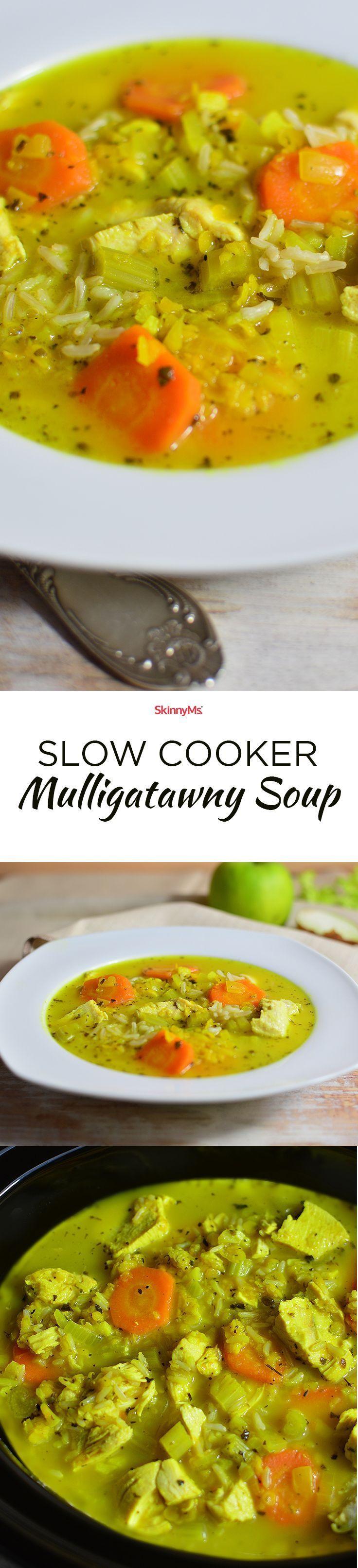 Have you ever hadmulligatawny? Bestsoupever!| Slow Cooker Mulligatawny Soup | mulligatawny soup slow cooker recipe | Skinny Ms.