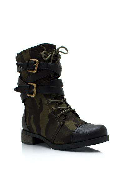 Love that camo is back this fall!!!! Now i can pull out all my camo shoes!