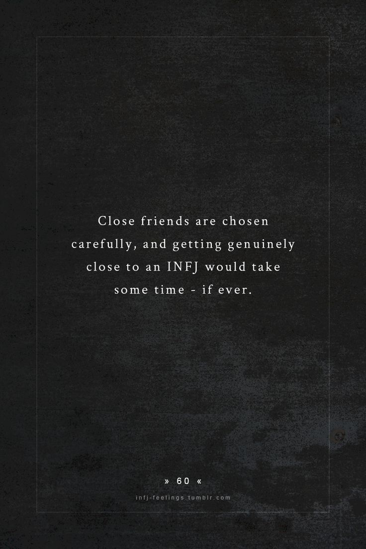 Nearly impossible, really, which is both protective and destructive. Always a hope to find that one friend to truly connect with.