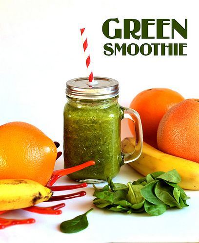 Green Smoothie | My Recipies | bold.color.glass blog