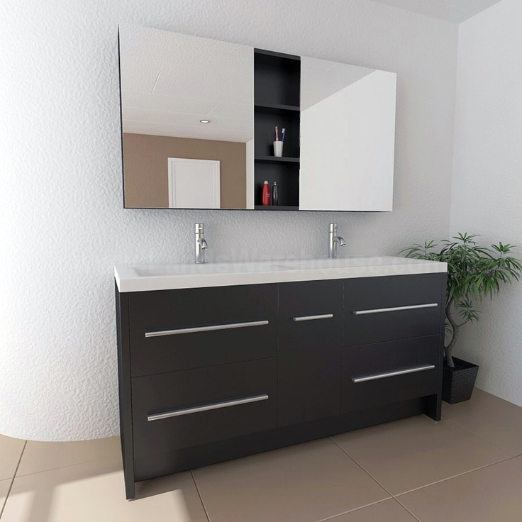152 best Double Modern Bathroom Vanities images on Pinterest ...