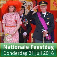 Evenementen op Nationale Feestdag 21 Juli 2016 Militair Defile Brussel via http://www.feestdagen-belgie.be/