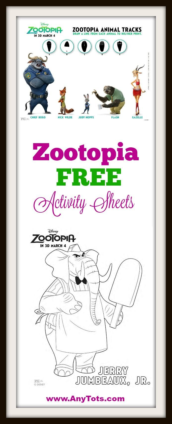 Color crew printables - Zootopia Free Printable Coloring Sheets Visit Www Anytots Com For More Free Disney