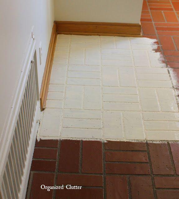 Brick Flooring Kitchen: 25+ Best Ideas About Brick Tile Floor On Pinterest