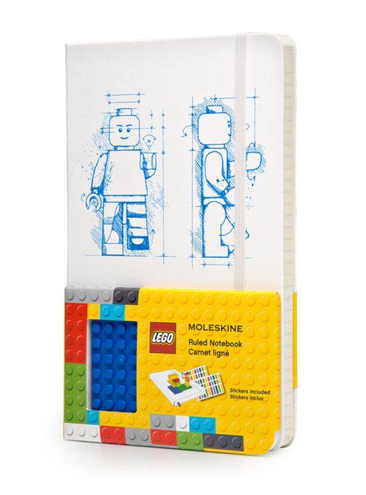 Notes Moleskine Lego L limitowana edycja biały w linie - małe zdjęcie dostępny na fabrykaform.pl