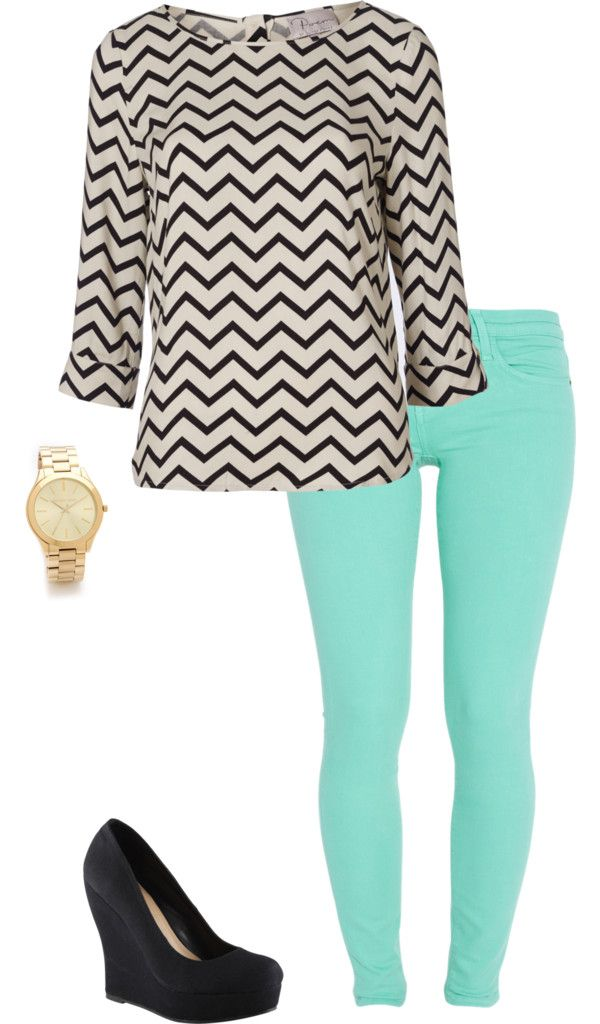 this would be a great spring outfit !
