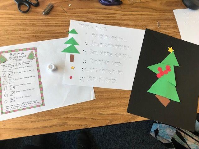 Adapting Roll A Christmas Tree Game Christmas Tree Game Christmas Christmas Tree