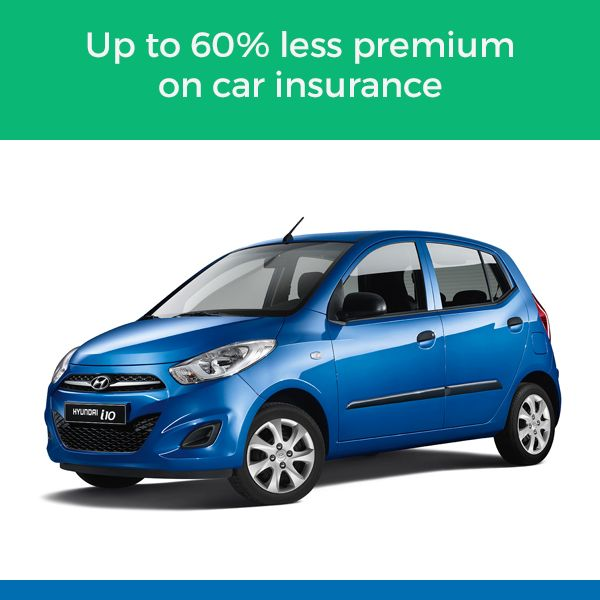 Up to 60% less premium on car insurance -  Hassle free online car insurance. Compare and choose from a range of  motor vehicle insurance plans, designed to suit your needs.