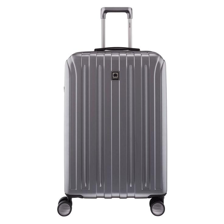 Mittlerer #Trolley Delsey Vavin bei Koffermarkt: ✓Farbe graphit  ✓69,5x45,5x29 cm ✓4 Rollen ✓erweiterbarer Volumen ✓aus Polycarbonat