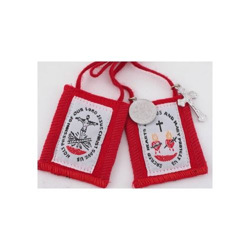 Red Passion Scapular