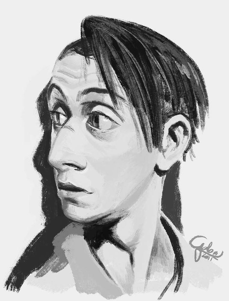 Buttons, a character based on Tim Roth by Galoolady