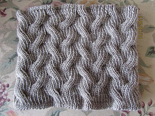 Shifting Sands Cowl  free pattern on Ravelry  Julie Golub  #crafttuts+ and #crafttutorials