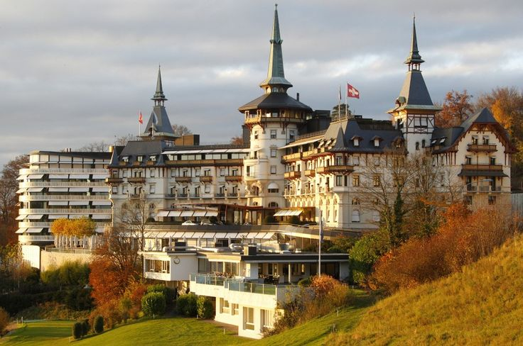 The Dolder Grand Hotel in Zurich, Switzerland.... ahh. Must get back to that place.