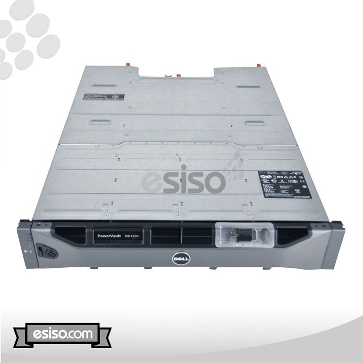 U648K Dell PowerVault MD1200 Direct Attached Storage DAS 5x 1TB SATA 7x Trays