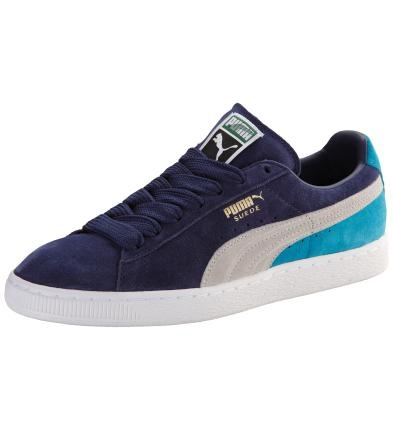 Men's Suede Eco Trainers: A classic from the PUMA Archive. A trendsetting sneaker and the first shoe of