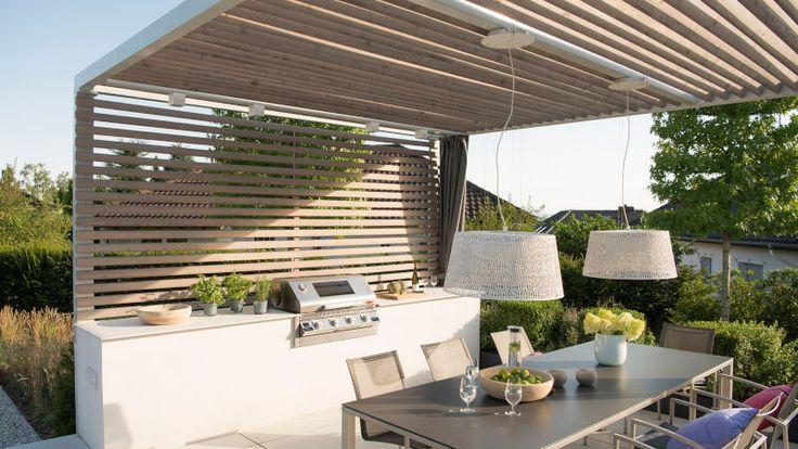 Outdoorküche mit Beefeater Einbaugrill Outdoorküche mit Beefeater