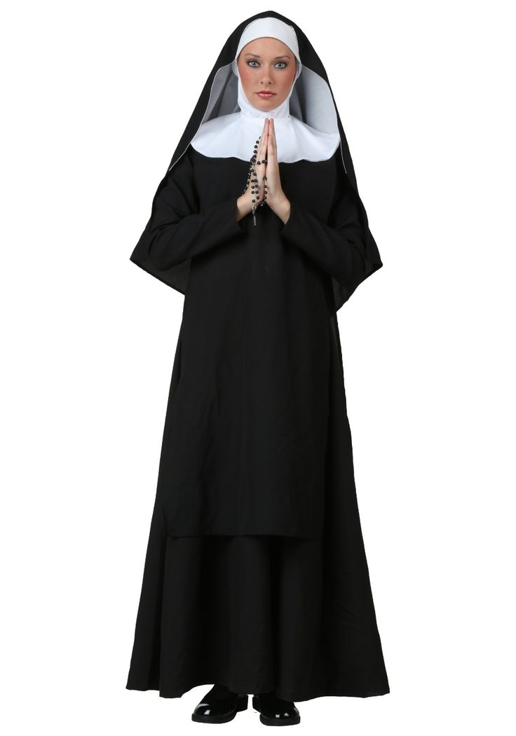 ==> [Free Shipping] Buy Best Bayi hot nun Halloween Costume Adult Children cosplay costume Priest Black carnival luruxy top quality party costumes Online with LOWEST Price | 32609080712