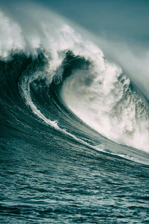 """""""""""Who kept the sea inside its boundaries as it burst from the womb, and as I clothed it with clouds and wrapped it in thick darkness? For I locked it behind barred gates, limiting its shores. I said, 'This far and no farther will you come. Here your proud waves must stop!'"""" Job 38:8-11 NLT http://bible.com/116/job.38.8-11.nlt"""