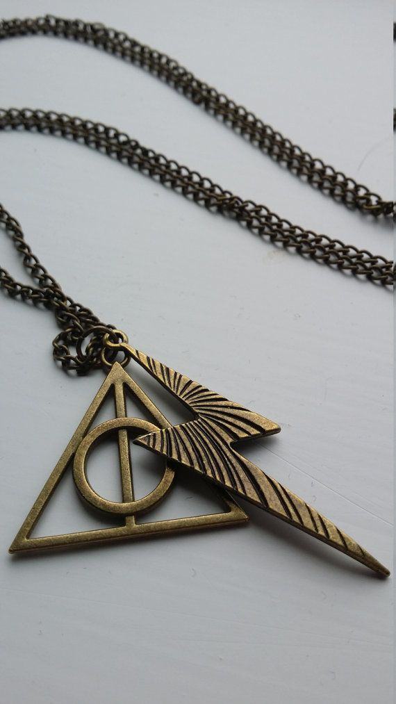 Harry Potter Lightening Bolt and Deathly by DorsetCreations