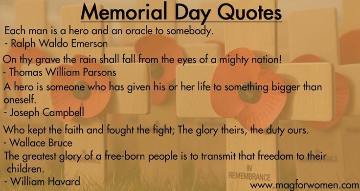 Memorial Day Pinterest Quotes: Memorial Day Quotes