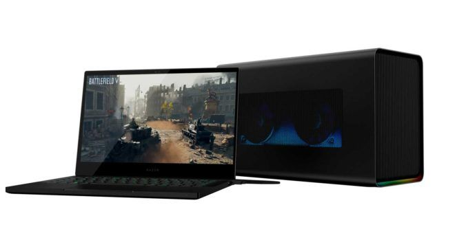 Razer Core X Chroma Discrete Graphics Box For Pc And Laptops Technology News Reviews And Buying Guides Razer Graphic Card Modern Tech