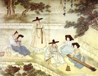 Korean traditional painting - Shin Yoon Bok(1758)