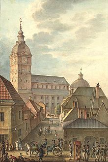 Cathedral of Turku, 1814. (Finland)