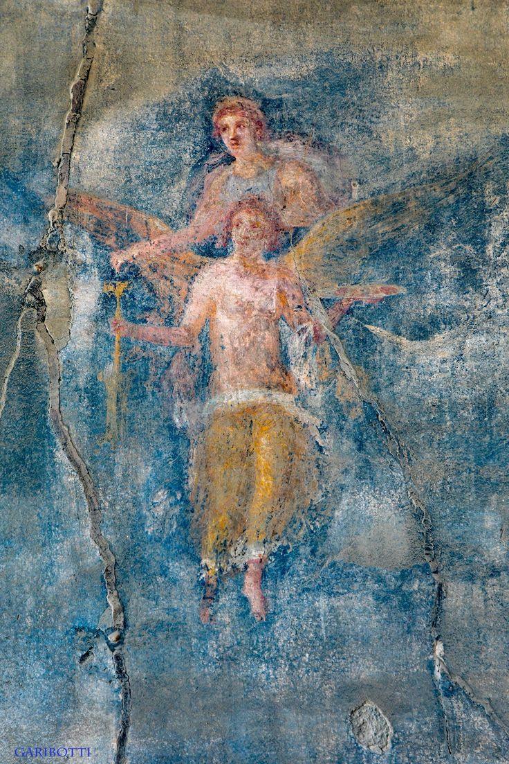 POMPEII-A fresco from the Macellum.