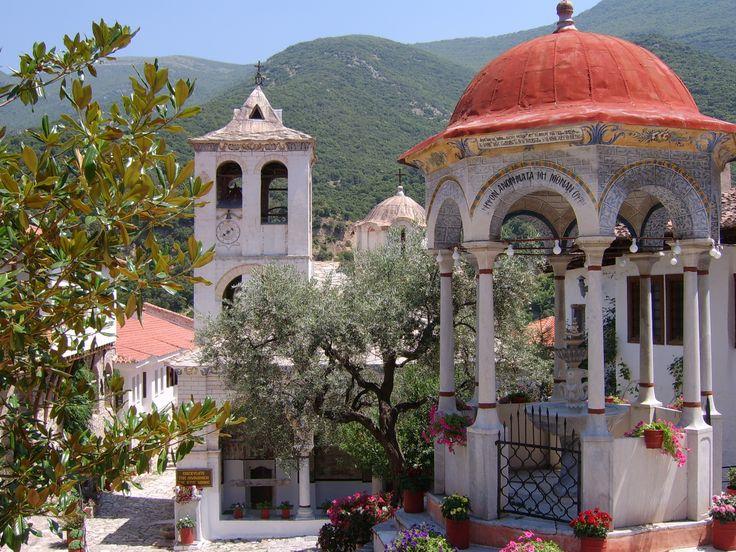 Timios Prodromos monastery, Serres