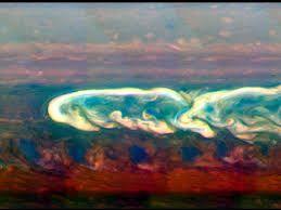 Image result for saturn storm