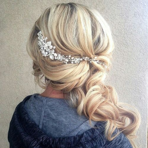 To The Side Wedding Hairstyles: Best 10+ Wedding Hairstyles 2016 Ideas On Pinterest
