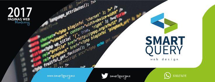 Páginas web en Monterrey Diseño web Desarrollo web en México HTML CSS Publicidad Marketing  www.smartquery.mx