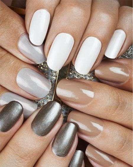 Unghie da sposa 2016 - Colori unghie cool e nude per il matrimonio