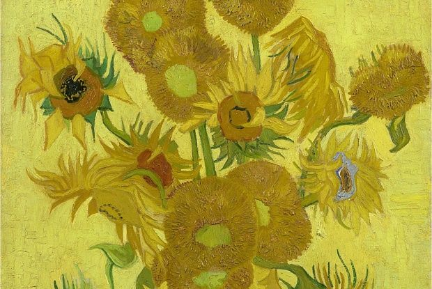Van Gogh's sunflowers may be restored to their original bloom.  Vincent van Gogh's Sunflowers (1889) © Van Gogh Museum, Amsterdam (Vincent van Gogh Foundation)