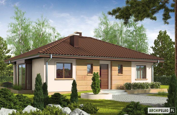 Projekty domów ARCHIPELAG - Margo Mocca