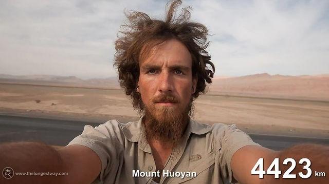 Nov.9th 2007 - Nov.13th 2008 // one year on foot // 4646km through China // unlimited beard